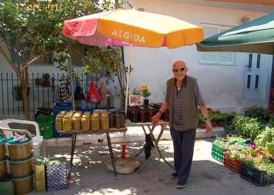 markt in Gythio