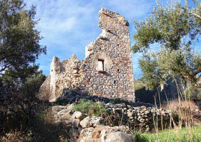 ruine oude vestingtoren