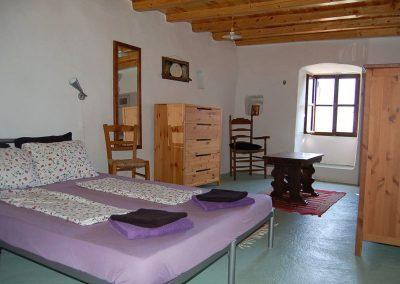 woon-slaapkamer beneden