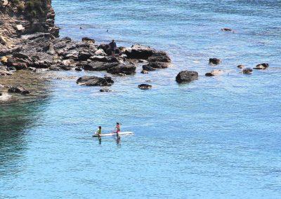 zwemmen bij Chalikia